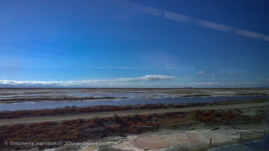 Northern California by train