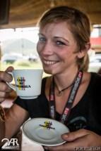 selbst gemachter echter kolumbianischer Kaffe