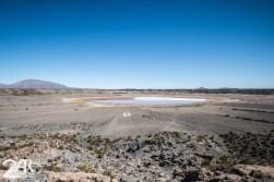 Crater nahe des Salars