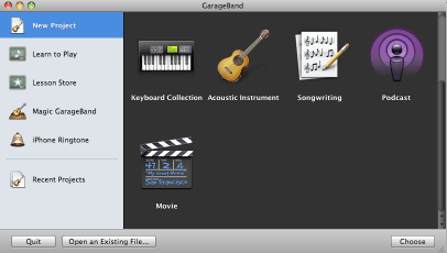 garageband-movie-choice