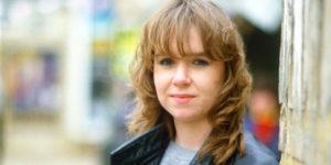 Susan Tully as an actress