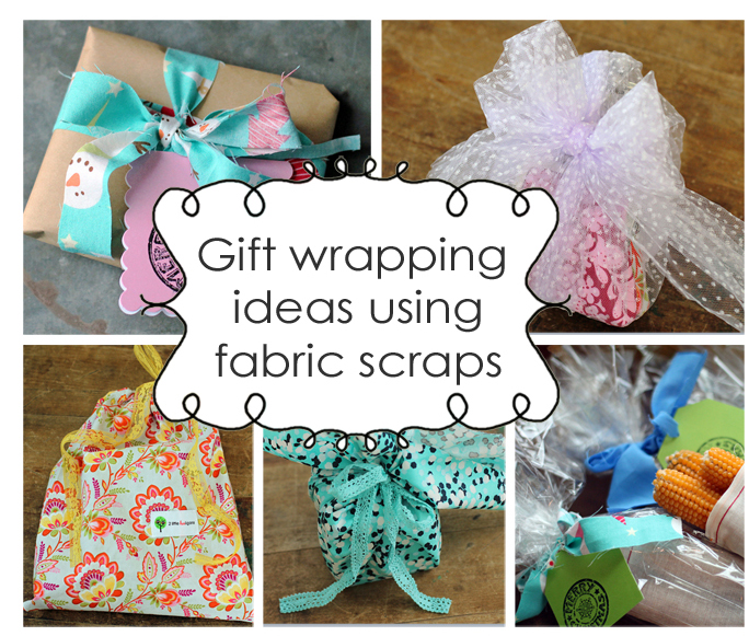 fat quarter friday {fabric gift wrapping}