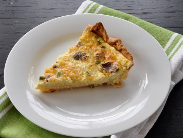 Bacon & Green Onion Quiche