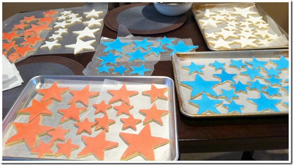 Cookies Drying after flooding