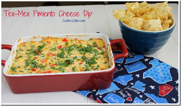 Tex-Mex Pimiento Cheese Dip