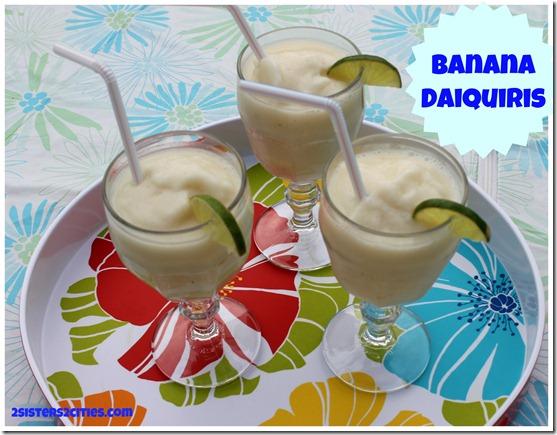 Banana Daiquiris