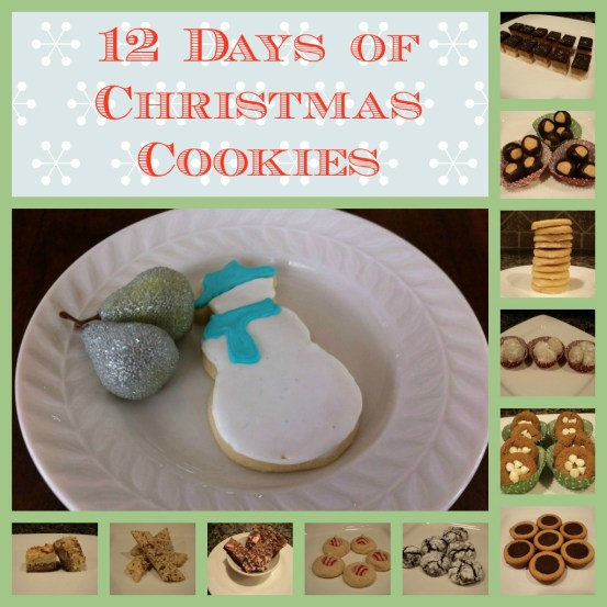 12 days of Christmas cookies- 2011 {from 2 Sisters 2 Cities}