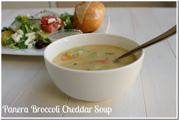 Panera Broccoli Cheddar Soup
