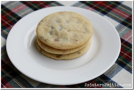Three Heath Bar Butter Cookies