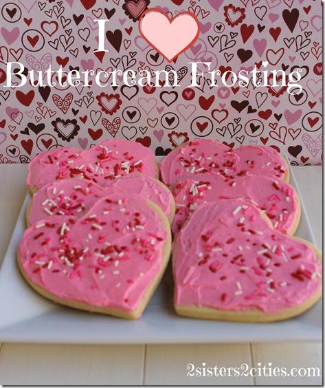 I Heart Buttercream Frosting