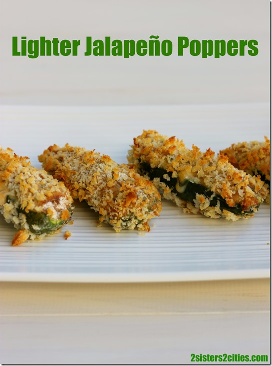Lighter Jalapeno Poppers