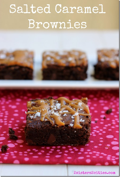 Delicious Salted Caramel Brownies