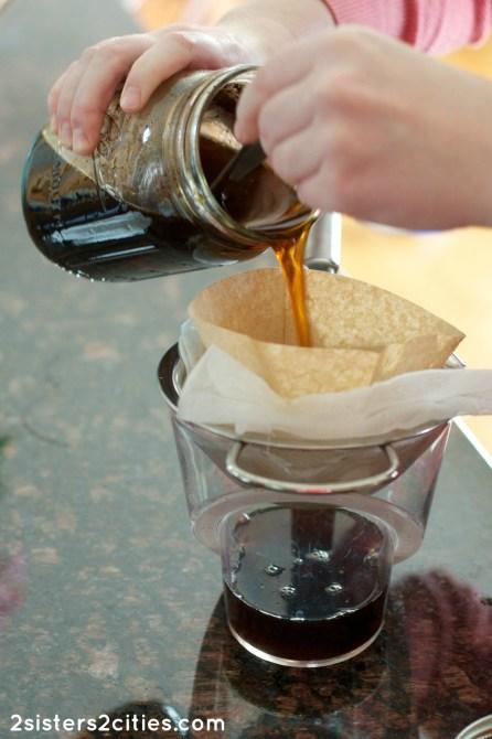 Mason Jar Cold-Brewed Iced Coffee