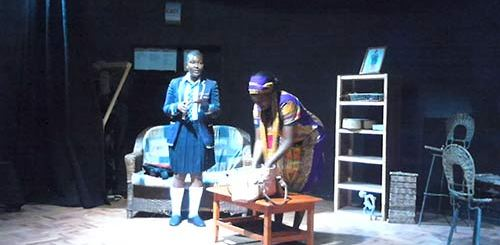 Scene with Lisa Gutu and Eunice Tava in The Past Is For The Future PIC: 3-mob.com