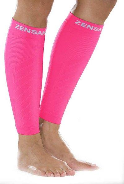 zensah-compression-leg-sleeves-neon-pink
