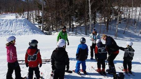 Wachusett Kids Ski Lessons