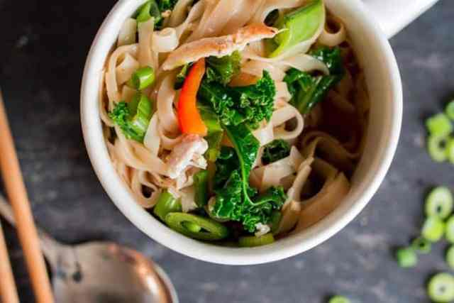 Instant Healthy Homemade Noodle Cups To Go