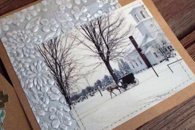 Creating Treasures: Easy Handmade Christmas Cards