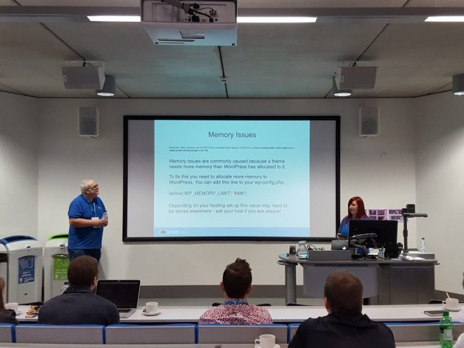 Usable info on working with common WordPress issues with Keith and Kayleigh