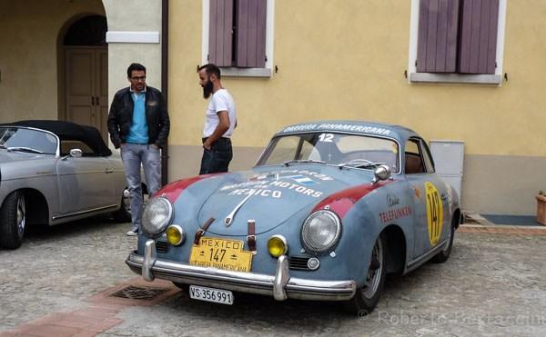 Porsche 356 pre A Meeting Italy