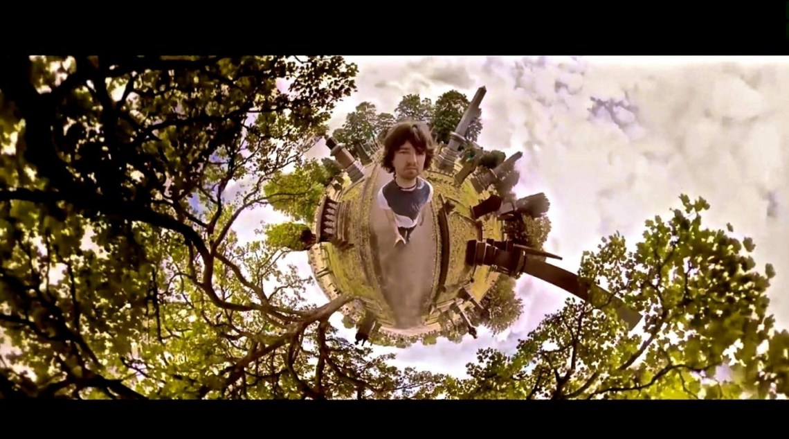 "Danny Lacey filmed a a spherical music video for Embrace's ""I Run"". Photo courtesy of Embrace."