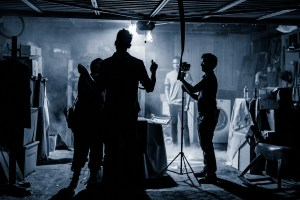 Behind the scenes at Light Sail VR's Paranormal shoot.