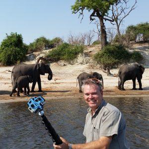 Chris du Plessis shoots safari VR with 360Heros.