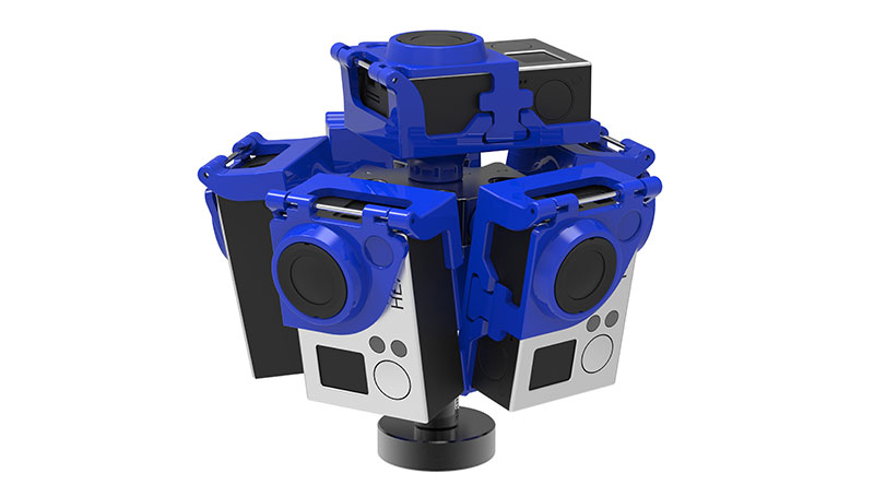 Pro6L 360 video rig