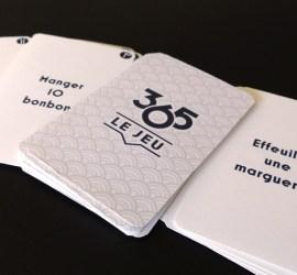 Photo 365 le jeu cartes prototypes