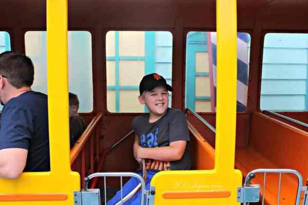 Bryce bus ride