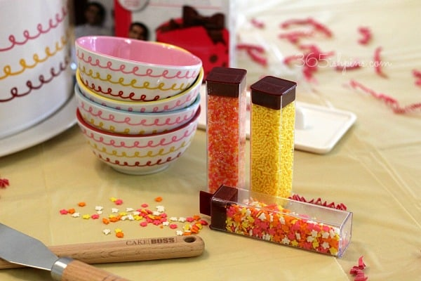 Cake Decorating Ideas Sprinkles : How to Host a Cake Decorating Party - 365ish Days of Pinterest