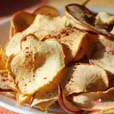 Making your own apple chips is easy and you don't need any special tools to do it! These Baked Apple Chips are a perfect healthy snack!