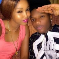 Wizkid Lands Huddah Monroe Of BBA a Hot Kiss! | Photos
