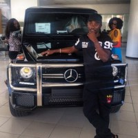 No Husband, no Problem! Ini Edo Splashes N38 million on Benz G-Wagon | Photo