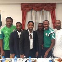 Legendary Photo: Kanu Nwankwo, Austin Okocha, Celestine Babayaro, Victor Ikpeba, Vincent Enyeama...
