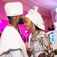 Tiwa Savage Shares Beautiful Photo To Celebrate 1st Wedding Anniversary