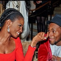 The Curious Look Of Love Between D'banj & Former Miss World Agbani Darego ~ PHOTO
