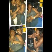 BIZARRE! 2face Idibia Caught Kissing Another Woman In Public - PHOTO