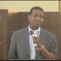 Watch Pastor Adeboye Endorse Prof Osinbajo In President Jonathan's Presence