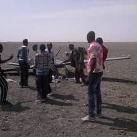 Unmanned Aerial Drone Armed With Missiles Crash-Lands In Borno Village - PHOTOS