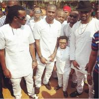 Photos From P-Square's Father's Burial Today In Anambra