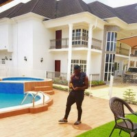 Timaya Shows Off His Multi-Million Naira Mansion; Shares Motivational Quote With His Fans - PHOTO!