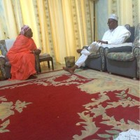 Gen. Buhari Casts His Vote Plus Relaxes At Home With Wife Before Voting - PHOTOS!