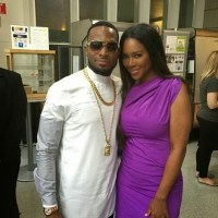 D'banj Poses With Former Miss USA Kenya Moore At World Bank Event - PHOTO!