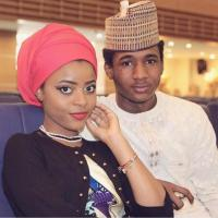 President Buhari's Handsome Son Yusuf Shows Off His Beautiful Girlfriend - PHOTO!