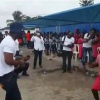 This Kid Left Iyanya Speechless With His Dance Moves! - Watch Him Dance