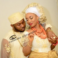 Tonto Dikeh Marries Oladunni Churchill | First Photos From Traditional Wedding