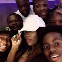 Tiwa Savage Hangs Out With The Mavin Boys- PHOTOS
