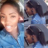 Who Knew Tiwa Savage's Natural Hair Is This Long? (Photos)