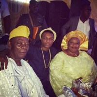 13 Nigerian Celebrities & Their Parents (Photos)